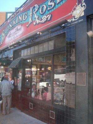 The Stinking Rose: A Garlic Restaurant Marker Photo, Click for full size