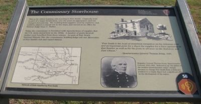 The Commissary Storehouse Marker image. Click for full size.