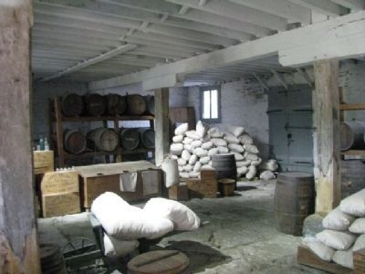 Inside the Commissary Storehouse Museum image. Click for full size.