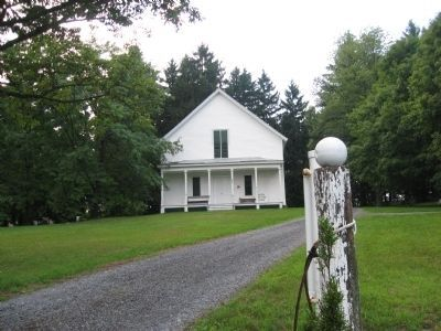 Current Friends Meeting House on the property. image. Click for full size.