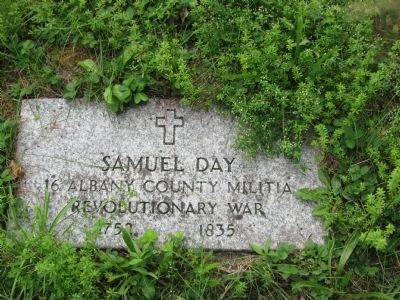 Old Turnpike Grave- Yard Marker image. Click for full size.