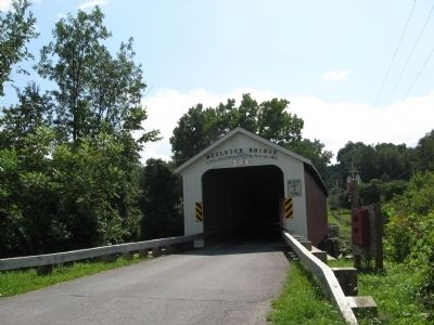 Rexleigh Covered Bridge Marker Photo, Click for full size
