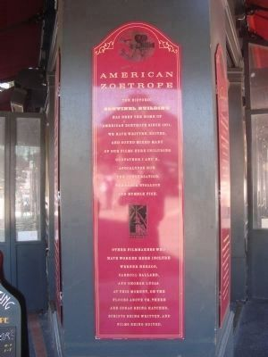 American Zoetrope Marker image. Click for full size.