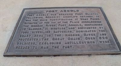 Fort Arnold Marker Photo, Click for full size