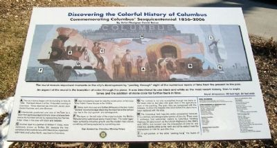 Discovering the Colorful History of Columbus Marker image. Click for full size.