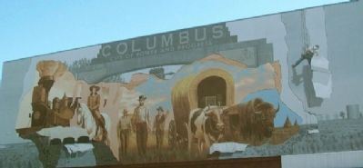 Discovering the Colorful History of Columbus Mural image. Click for full size.