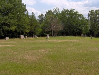 Flat Rock Cemetery Photo, Click for full size