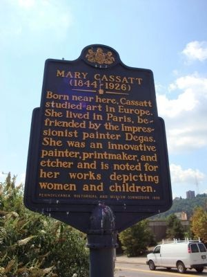 Mary Cassatt Marker image. Click for full size.