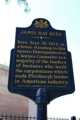 James Hay Reed Marker Photo, Click for full size