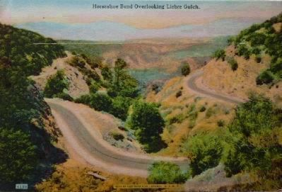 """Scenes on the Famous Ridge Route Between Los Angeles and Bakersfield"" Photo, Click for full size"