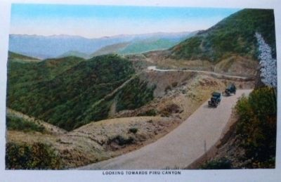Looking Towards Piru Canyon Photo, Click for full size