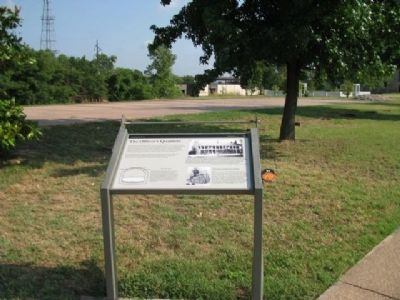 The Officer�s Quarters Marker image. Click for full size.
