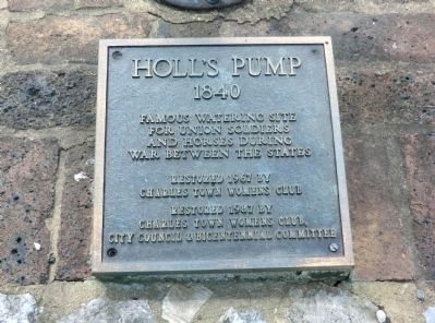 Hollis Pump 1840 Marker image. Click for full size.