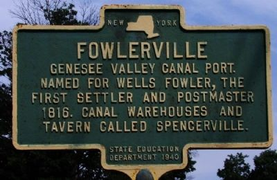 Fowlerville Marker image. Click for full size.
