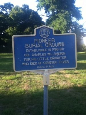 Pioneer Burial Ground Marker image. Click for full size.