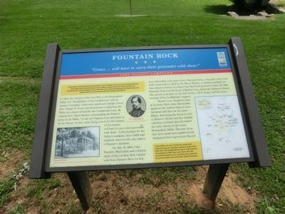 Fountain Rock Marker Photo, Click for full size