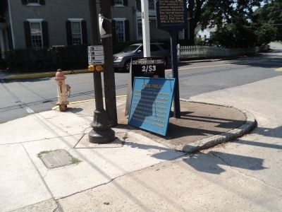 Marker in Mercersburg Photo, Click for full size
