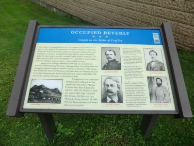 Occupied Beverly Marker image. Click for full size.