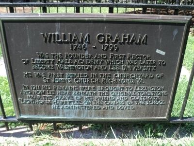 William Graham Marker Photo, Click for full size
