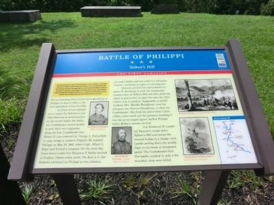 Battle of Philippi Marker Photo, Click for full size