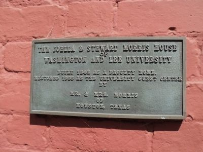Morris House Marker Photo, Click for full size
