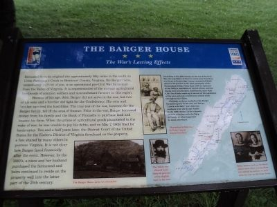 The Barger House Marker image. Click for full size.