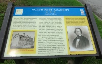 Northwest Academy Marker Photo, Click for full size
