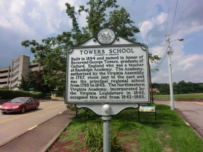 Northwest Academy Marker image. Click for full size.