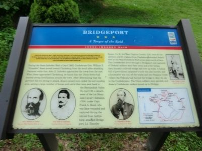Bridgeport Marker image. Click for full size.