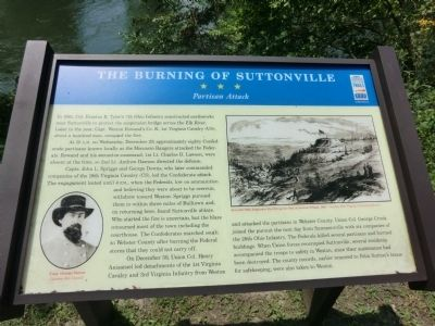 The Burning of Suttonville Marker image. Click for full size.