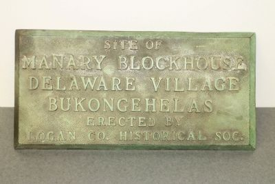 Manary Blockhouse Marker image. Click for full size.