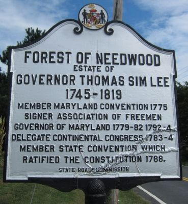Forest of Needwood Marker image. Click for full size.