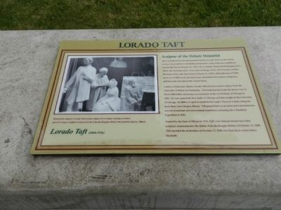 Lorado Taft (1860 - 1936) Marker image. Click for full size.