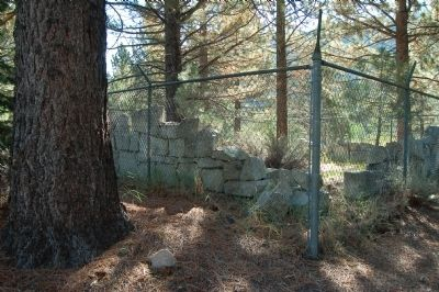 Ruins of the Silver Mountain jail Photo, Click for full size
