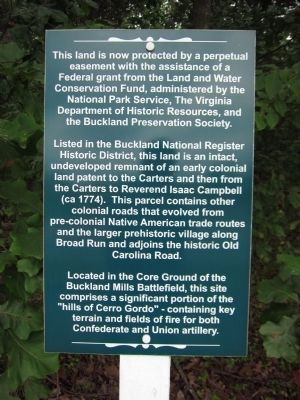 Nearby Preservation Sign image. Click for full size.