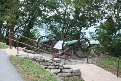 Corput's Georgia Battery Marker Photo, Click for full size
