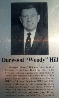 Woody Hill on Columbus Area Business Hall of Fame Marker image. Click for full size.
