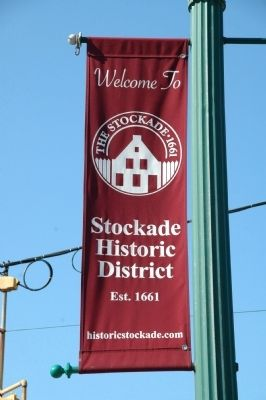 Welcome To The Stockade - 1661 image. Click for full size.