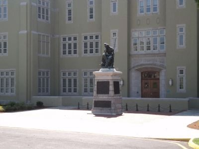 Monument at VMI image. Click for full size.