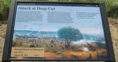 Attack at Deep Cut Marker Photo, Click for full size