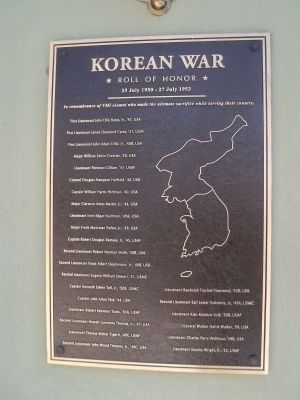Korean War Marker image. Click for full size.