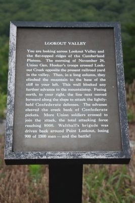 Lookout Valley Marker image. Click for full size.