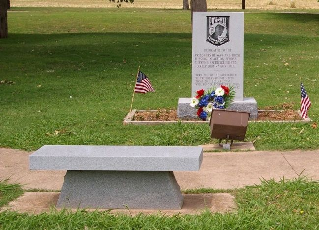 POW-MIA Monument image. Click for full size.