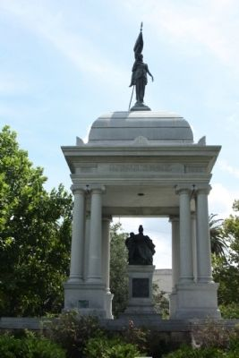 The Monument to Women of the Southern Confederacy Marker image. Click for full size.