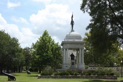 The Monument to Women of the Southern Confederacy west side view image. Click for full size.
