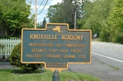 Knoxville Academy Marker Photo, Click for full size