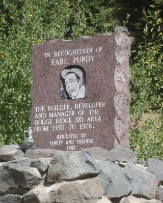 Earl Purdy Marker Photo, Click for full size