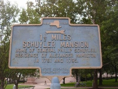 Schuyler Mansion Marker image. Click for full size.