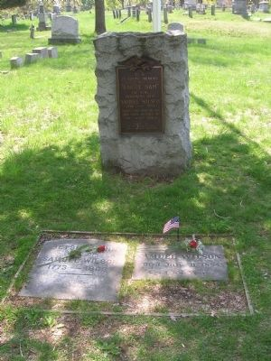 Uncle Sam Monument in Oakwood Cemetery image. Click for full size.