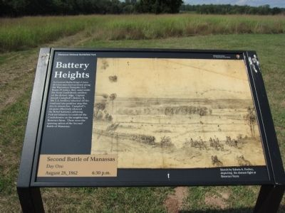 Battery Heights Marker Photo, Click for full size
